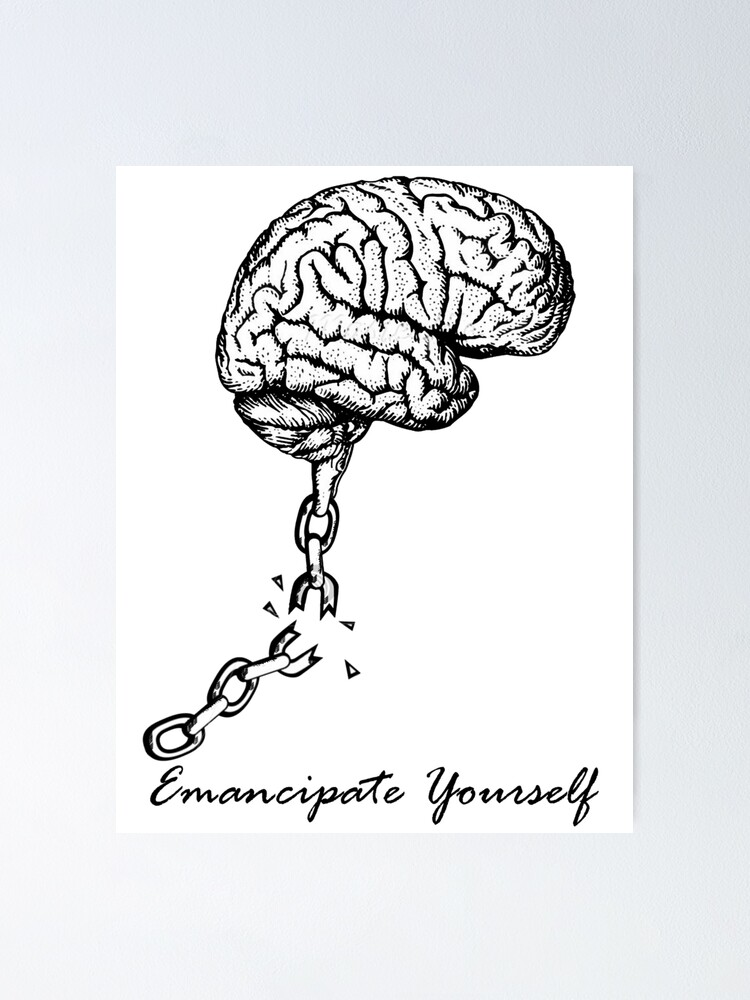 "Mental Slavery"" Poster by Yahnyk 