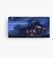 Scumm Bar Canvas Print
