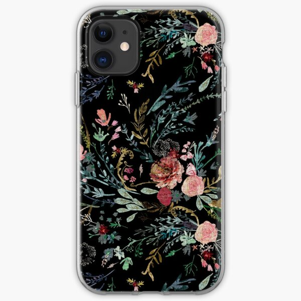 Midnight Floral iPhone Soft Case