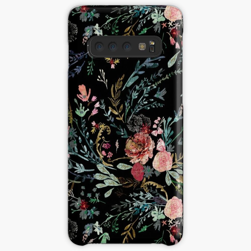 Midnight Floral Case & Skin for Samsung Galaxy
