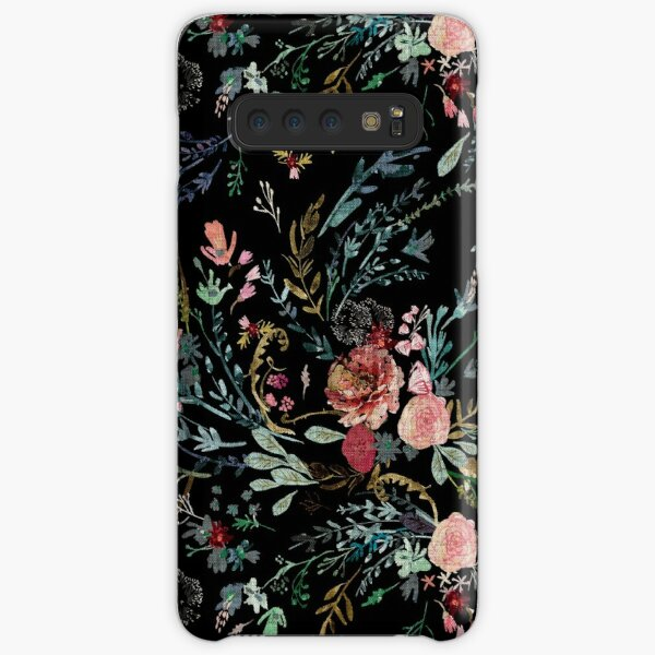 Midnight Floral Samsung Galaxy Snap Case