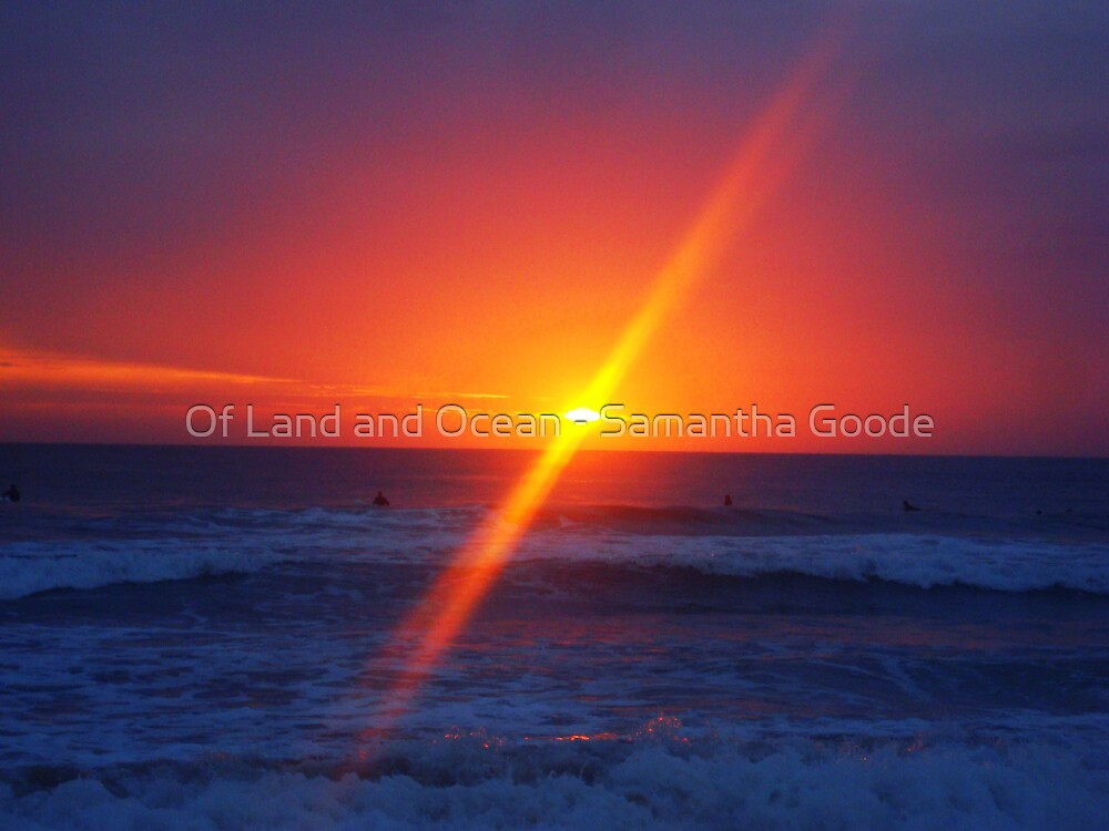 Sunrise, Manly Beach, Sydney, Australia  by Of Land & Ocean - Samantha Goode