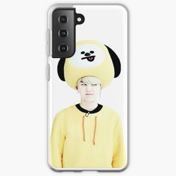 BTS Suga comme BT21 Chimmy Coque souple Samsung Galaxy