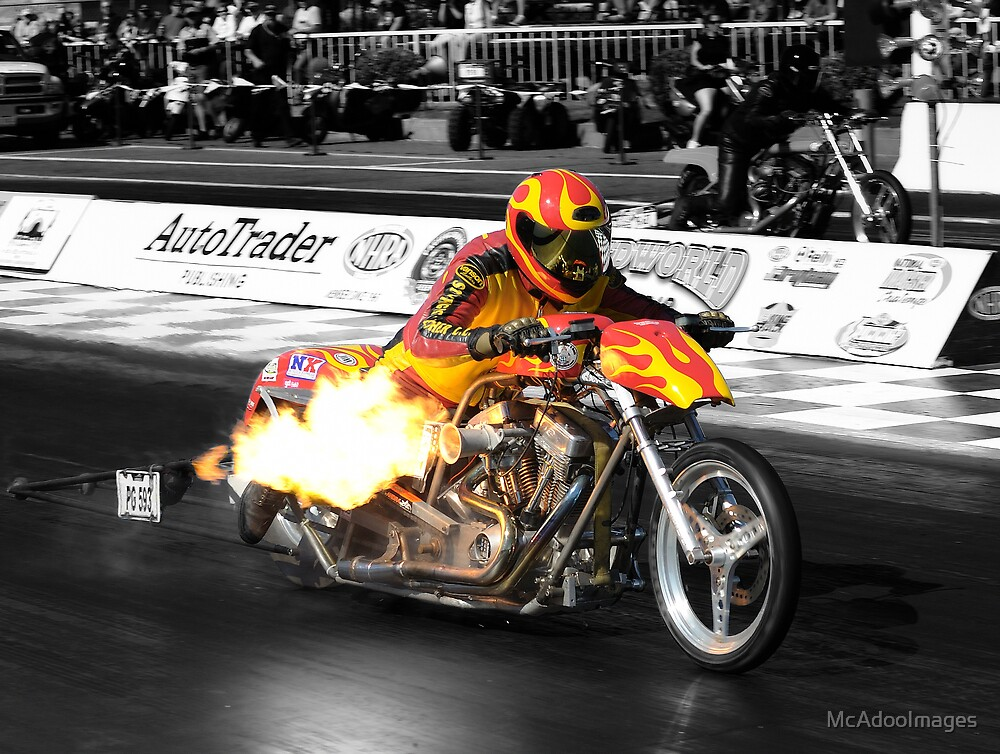 Too Much Nitrous by McAdooImages