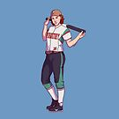 Softball Haught by Diana Benitez