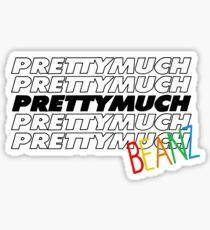 Prettymuch Beanz Sticker