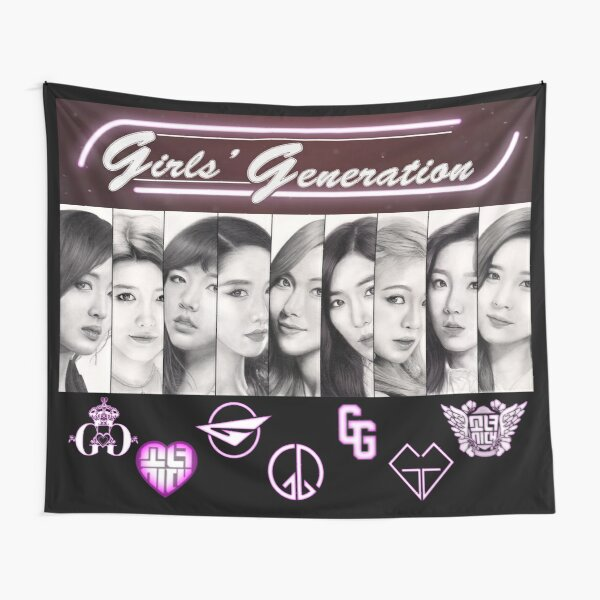 Girls' Generation Tapestry