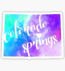 Colorado Springs Sticker