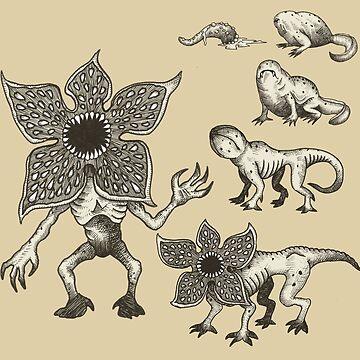 Demogorgons Evolution by GwynplaineStuff