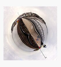 Mini world of Ryde Pier Photographic Print