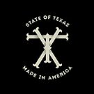 TX Texas Monogram by Chocodole