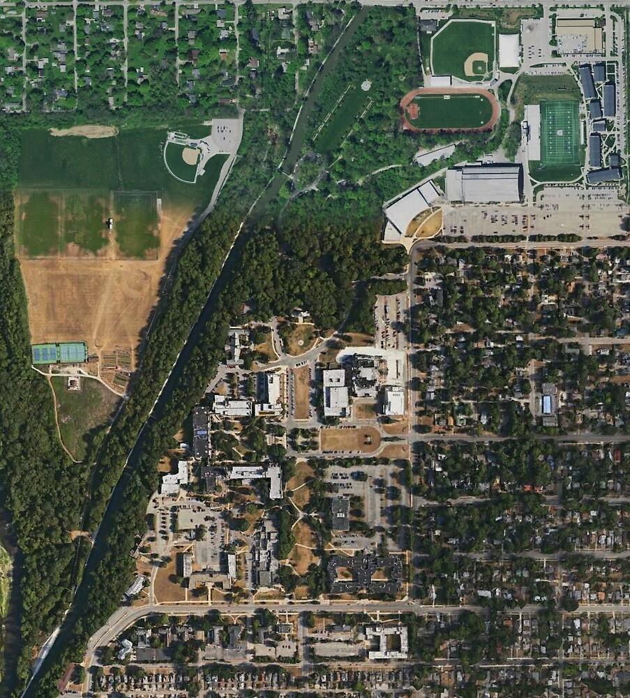 Butler University Google Maps\