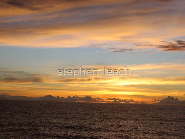 wish you were here to enjoy this with me by stephen  leach