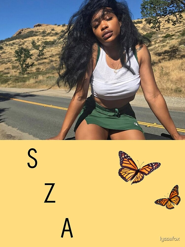6c0e7770f SZA with butterfly