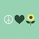 Peace Love and Nature by TrilliumDesign