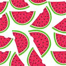 Watermelon Slice Pattern by Anaa