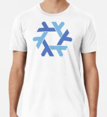 NixOS logo Men's Premium T-Shirt