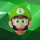 Luigi Low Poly Art by giftmones