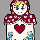 My Russian (doll) Valentine by Stacie Arellano