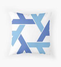 NixOS logo Throw Pillow