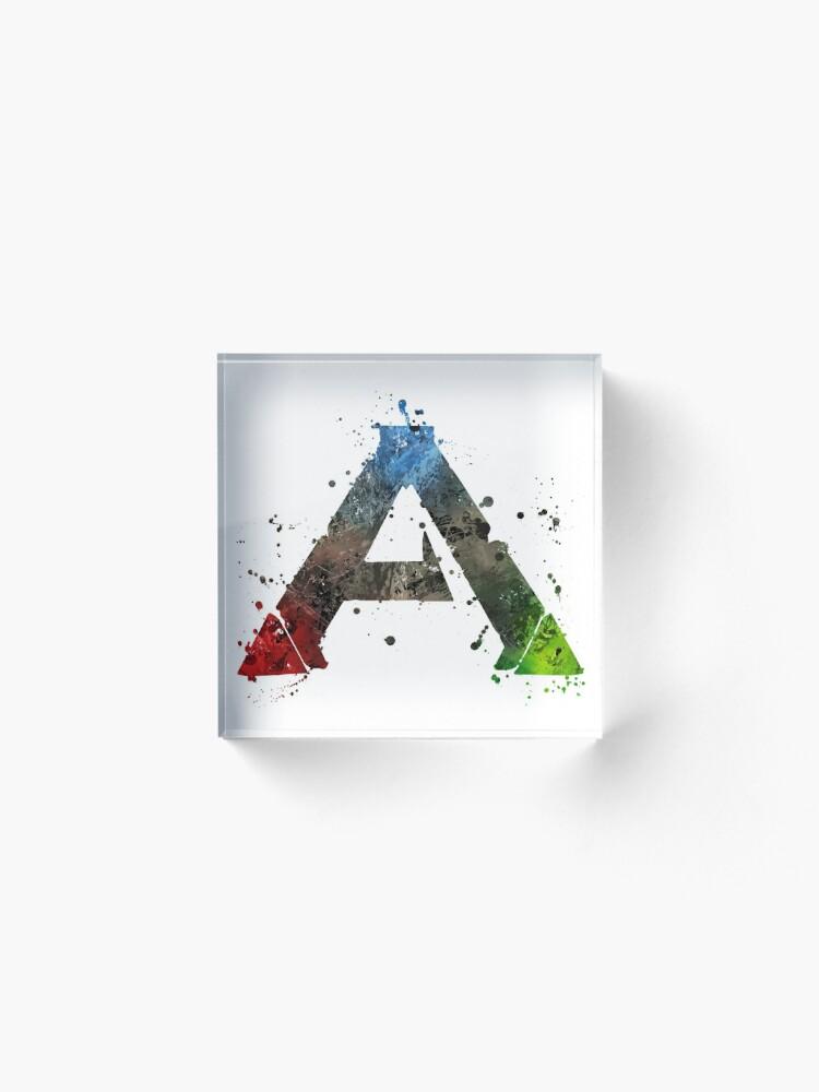 Alternate view of Ark Survival (Lite) Splatter Acrylic Block