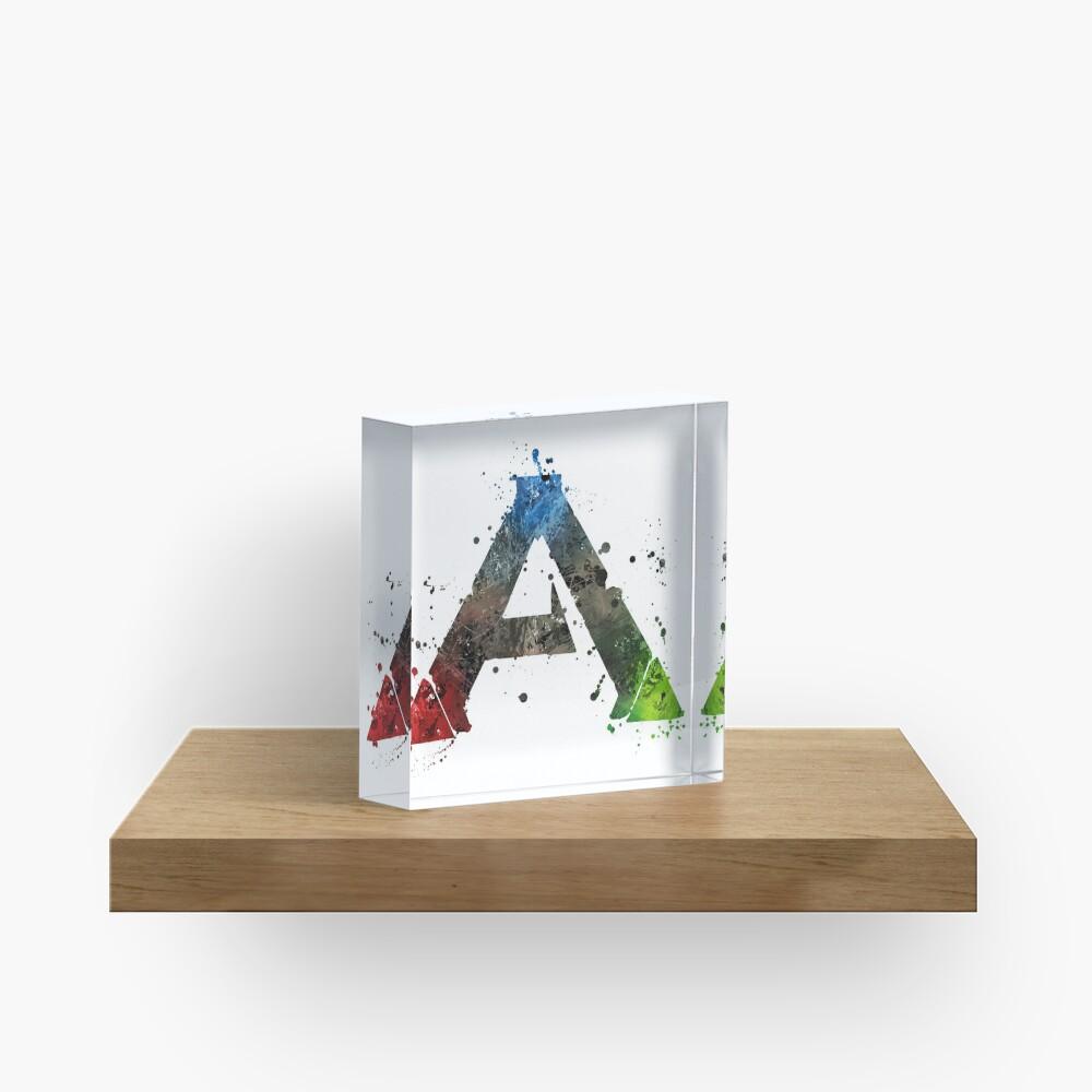 Ark Survival (Lite) Splatter Acrylic Block