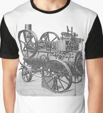 Ancient steam machine, steampunk, steampunk style, steampunk fashion, steampunk clothing, Cyberpunk, Dieselpunk, Fantasy, Science Fiction Graphic T-Shirt