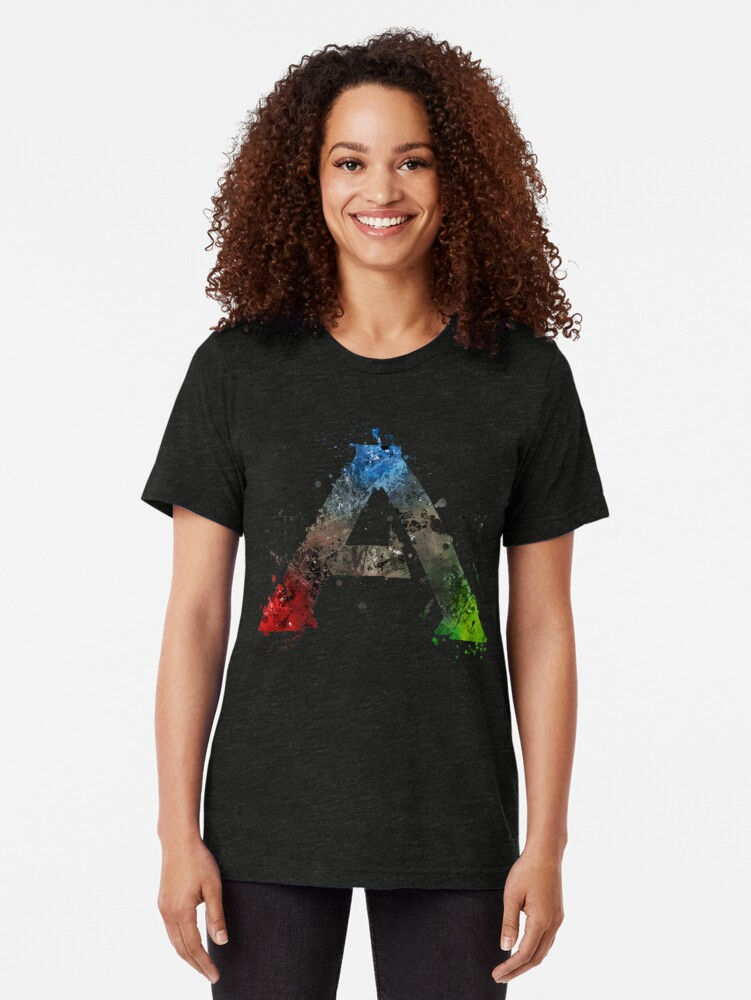 Alternative Ansicht von Ark Survival Evolved Splatter Vintage T-Shirt