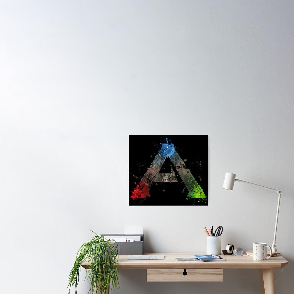 Ark Survival Evolved Splatter  Poster