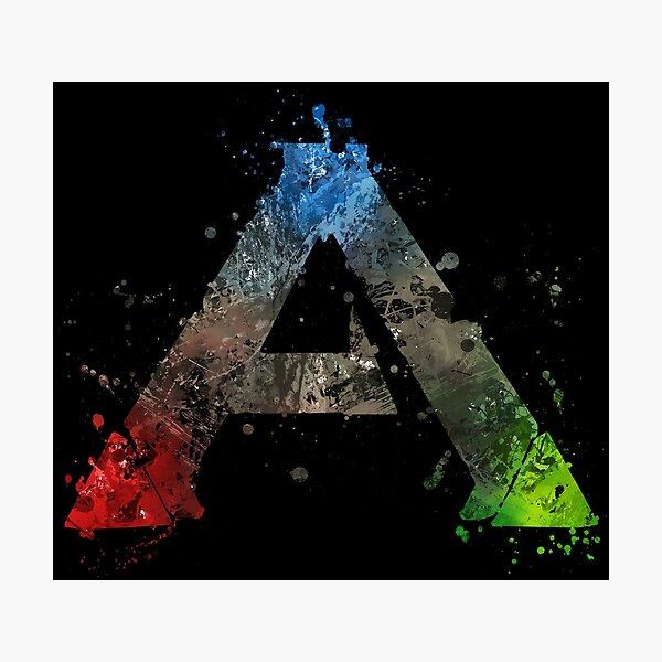 Ark Survival Evolved Splatter  Photographic Print