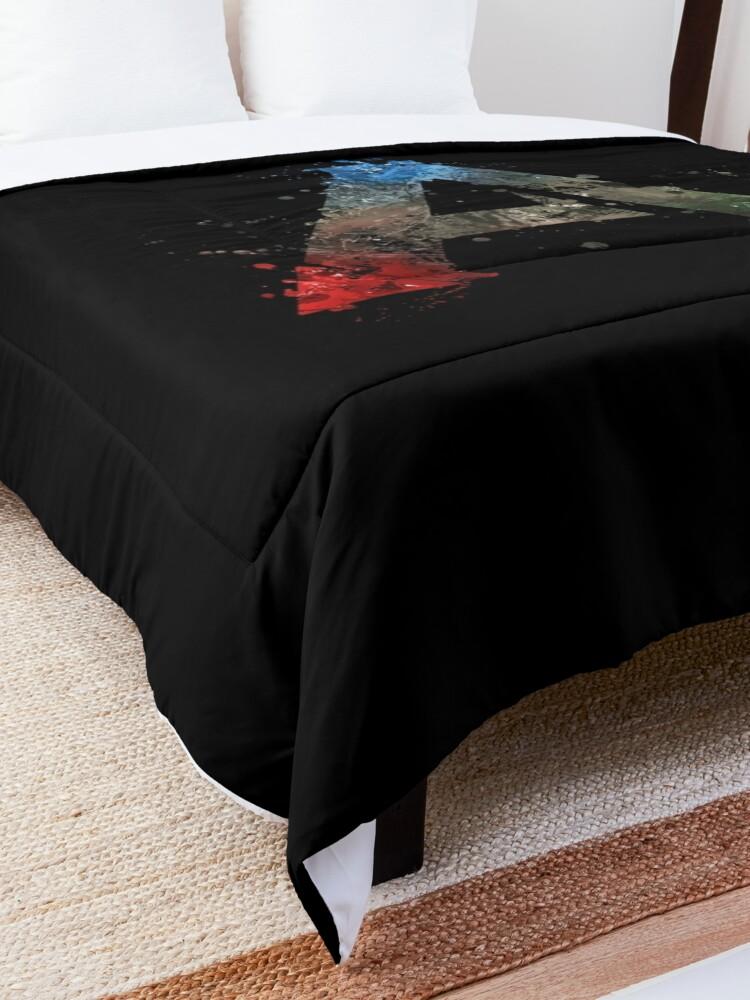 Alternate view of Ark Survival Evolved Splatter  Comforter