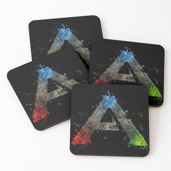 Ark Survival Evolved Splatter  Coasters (Set of 4)