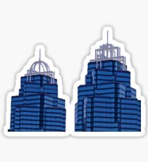 King and Queen Building Sticker