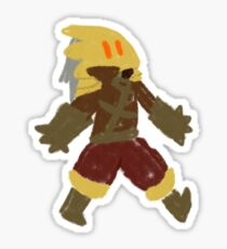 Slay the Spire - Lil' Ironclad Sticker