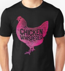 8ad17a45 Chicken Whisperer T-shirt Funny Farm Poultry Farmer Gifts Slim Fit T-Shirt