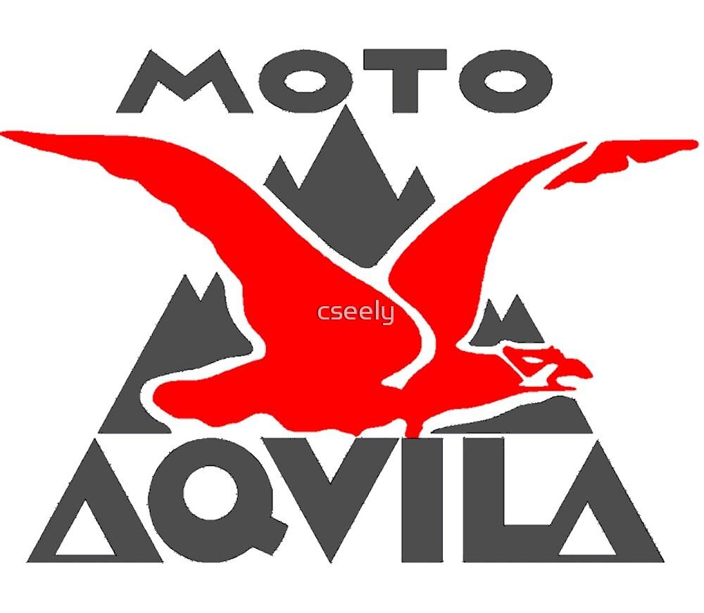 MOTO AQUILA ITALIAN VINTAGE MOTORCYCLE SHIRT by cseely