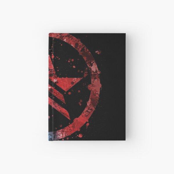 Mass Effect Renegade/Paragon Combo Splatter Hardcover Journal