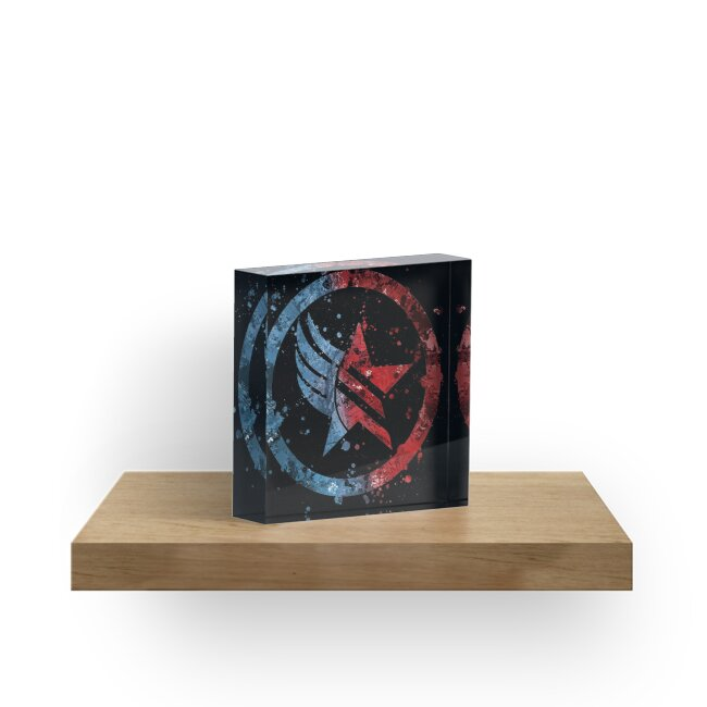 Masseneffekt Renegade / Paragon Combo Splatter von Jonathon Summers