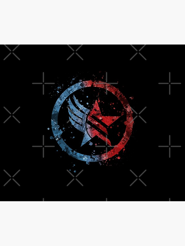 Mass Effect Renegade / Paragon Combo Splatter de jsumm52