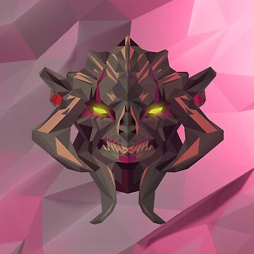 Huskar Low Poly Art by giftmones