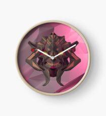 Huskar Low Poly Art Clock