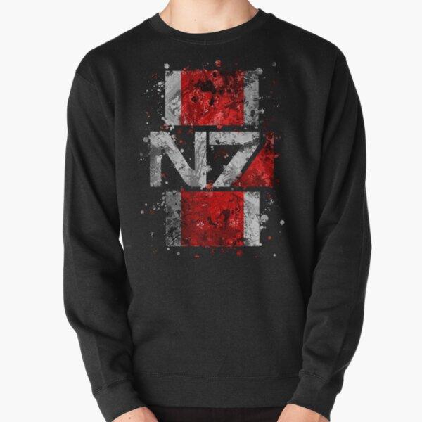 Mass Effect N7 Splatter Sweatshirt épais