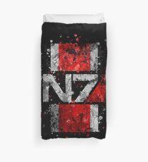 Mass Effect N7 Splatter  Duvet Cover