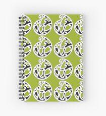 MAD HUE AOTEAROA Green Spiral Notebook