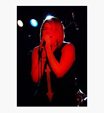 Rock N Roll Singer Photographic Print