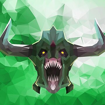 Undying Low Poly Art by giftmones