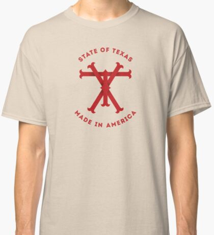 TX Texas Monogram Red Classic T-Shirt