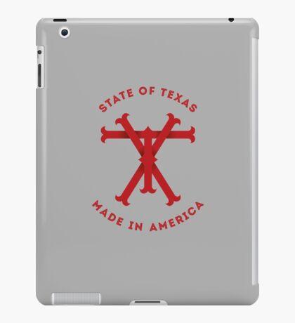 TX Texas Monogram Red iPad Case/Skin