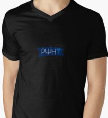 Rho Psi Eta Flag Men's V-Neck T-Shirt