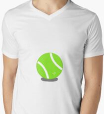 Roger the tennis ball Men's V-Neck T-Shirt